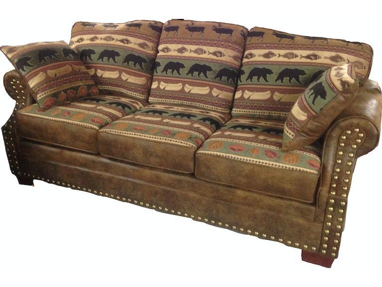Bayne Rustic Sofa 930 3 Dva Pt