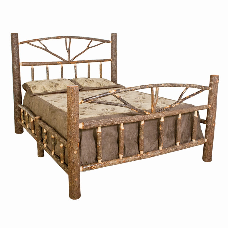 Best Craft Rustic Hickory King Bed H452 KBED