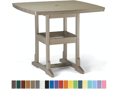 "Breezesta 42"" x 42"" Counter Table CH-0813"