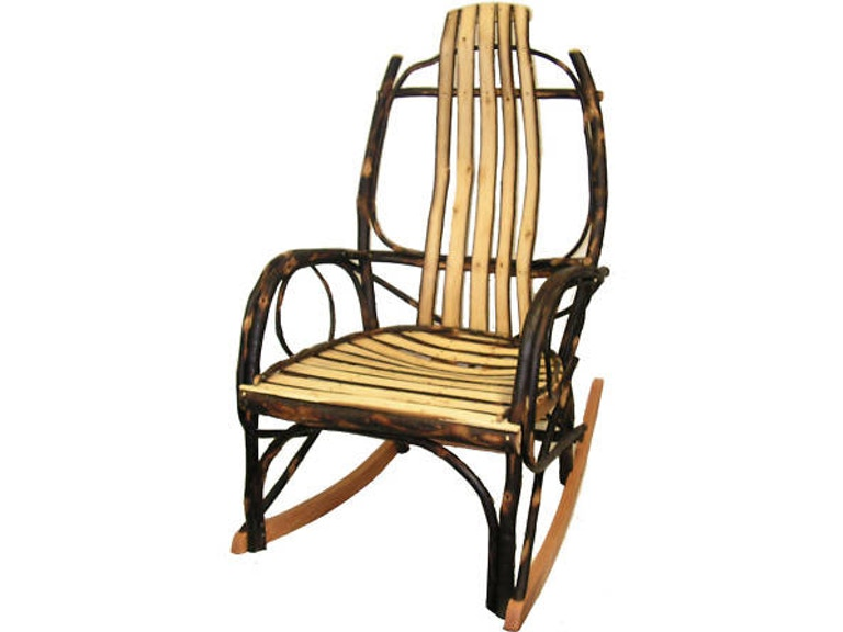Hickory Mountain Bentwood Rocking Chair Hh101