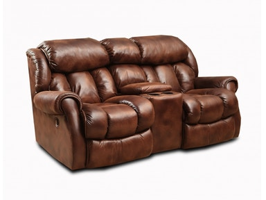 Homestretch Rocking Reclining Console Loveseat 101-23-21