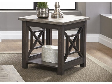 Liberty Furniture End Table 422-OT1020