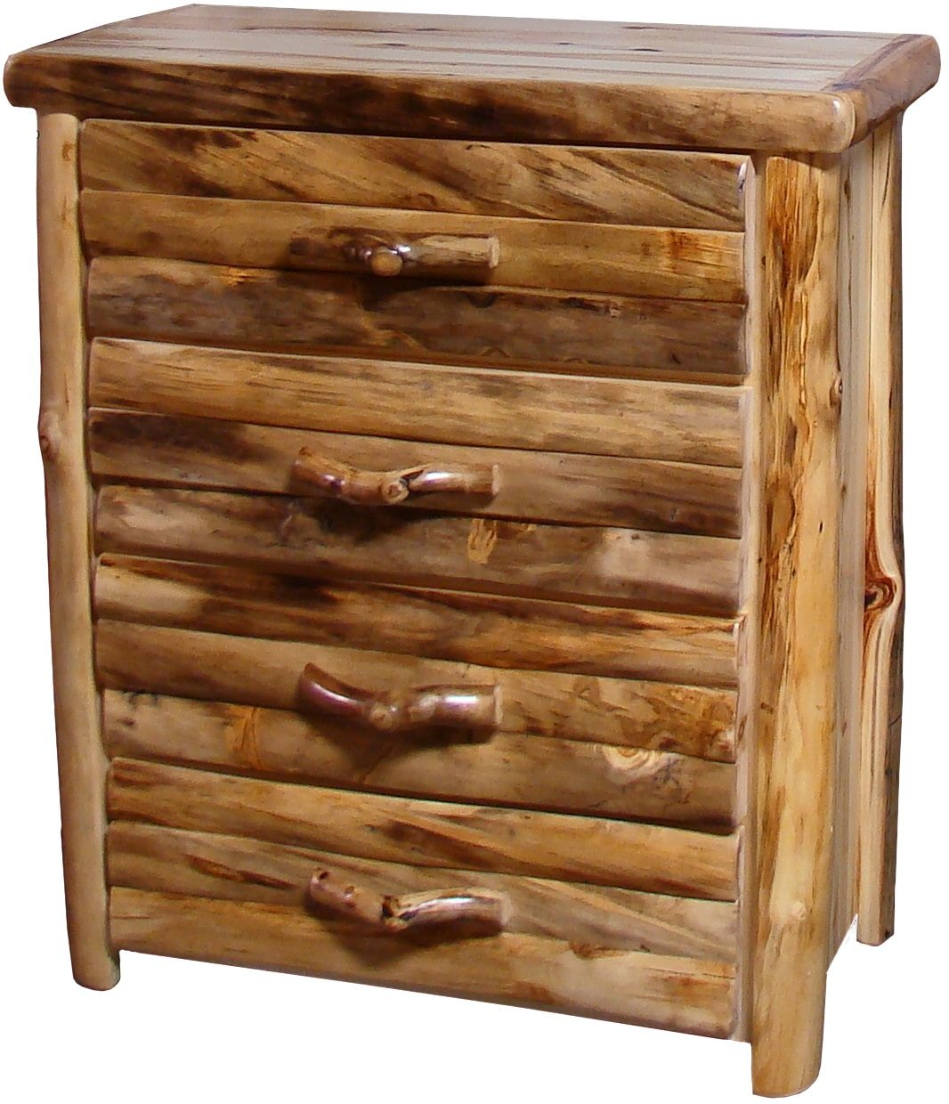 Rustic Log Furniture Bedroom 4 Drawer Chest 4dcl 39 Nn