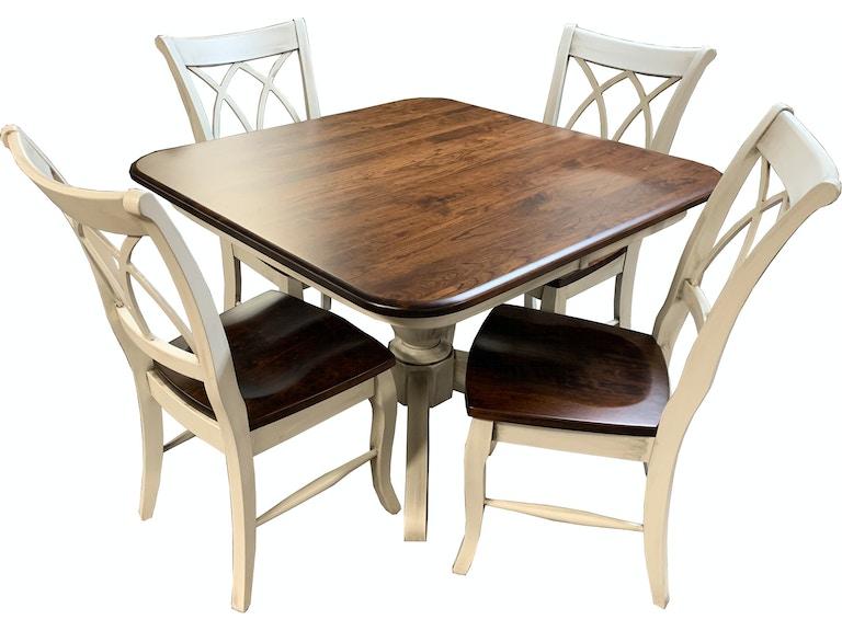 Sunrise Furniture 5 Piece Dining Room Table Set DENVER H 140