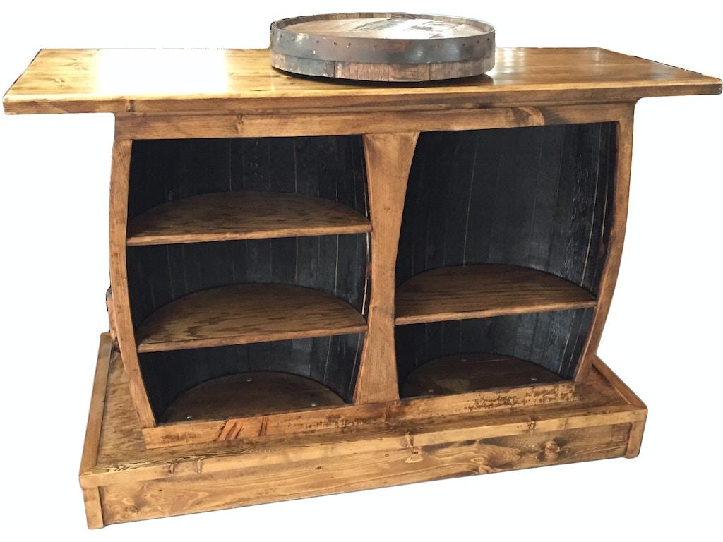 Twigs Furniture Jack Daniels Barrel Bar Unit Jd