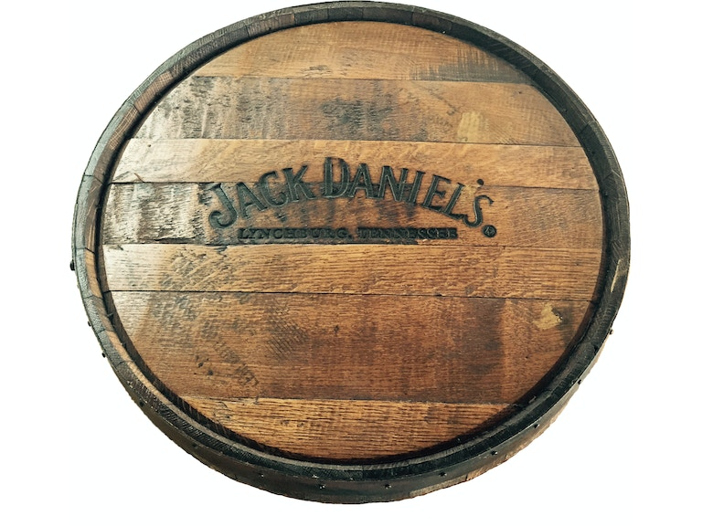 Twigs Furniture Accessories Jack Daniels Barrel Lazy Susan Jd Ls