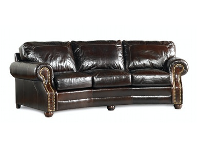 Leather Conversational Sofa