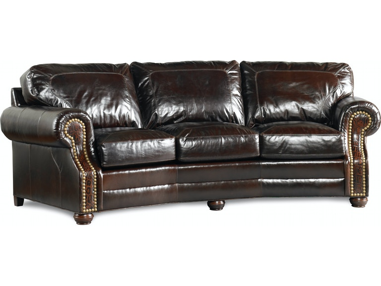 Living Room Leather Conversational Sofa Colorado Style