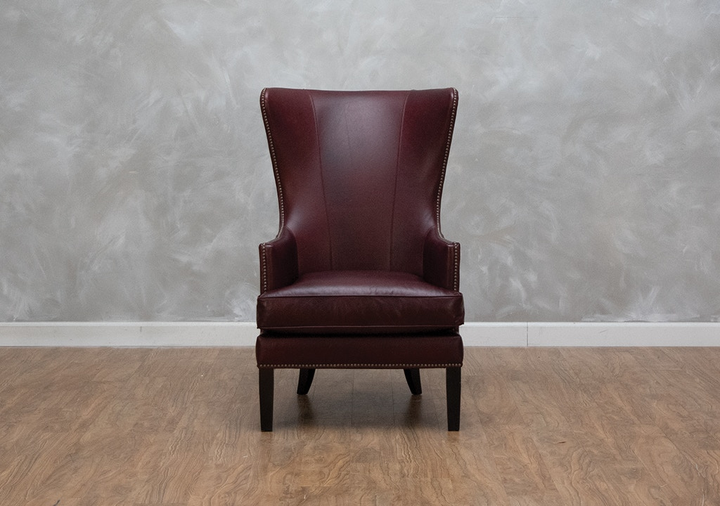 Outstanding Whitney Ii Leather Accent Chair Short Links Chair Design For Home Short Linksinfo