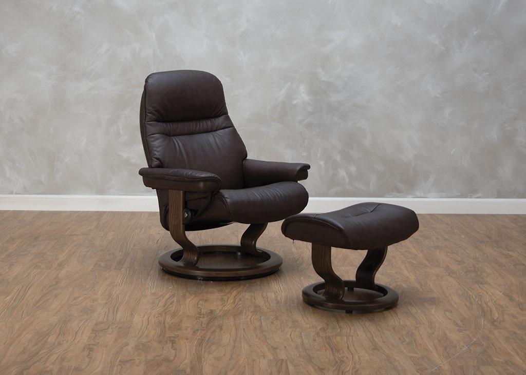 Stressless By Ekornes Living Room Sunrise Medium Chair