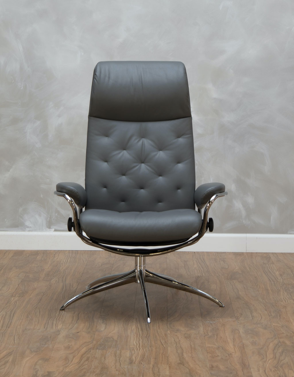 Stressless by Ekornes Metro High Back Office Chair 537682  sc 1 st  Kittleu0027s Furniture & Stressless by Ekornes Home Office Metro High Back Office Chair ...