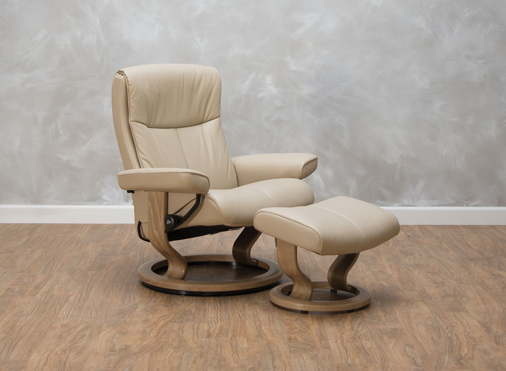 Stressless By Ekornes Peace Large Chair U0026 Ottoman 540396