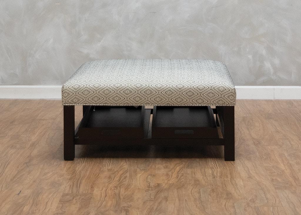 Wondrous Lori Cocktail Ottoman With Trays Cjindustries Chair Design For Home Cjindustriesco