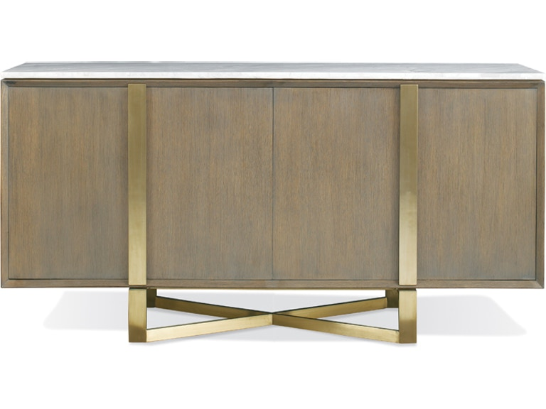 Hickory White Dining Room Chandler Credenza With Stone Top 546404