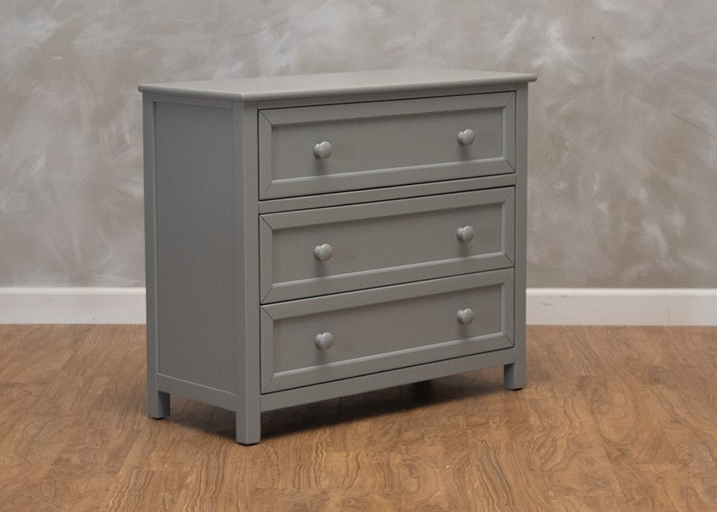 Hillsdale Furniture Schoolhouse 3 Drawer Chest Gray