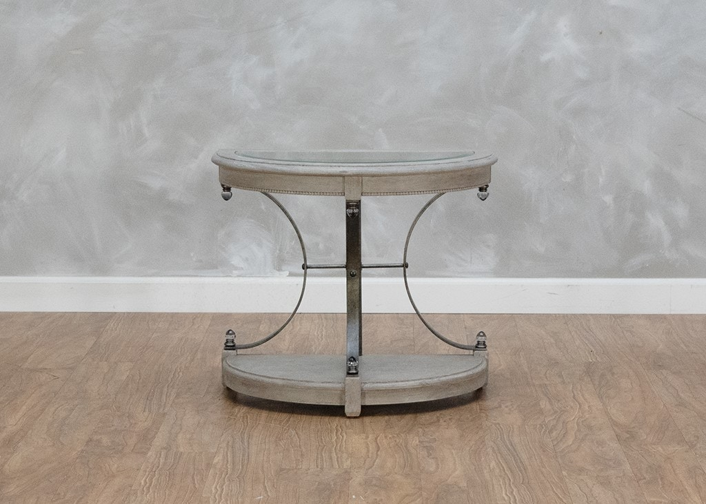 Art Furniture Arch Salvage Half Circle End Table 559017