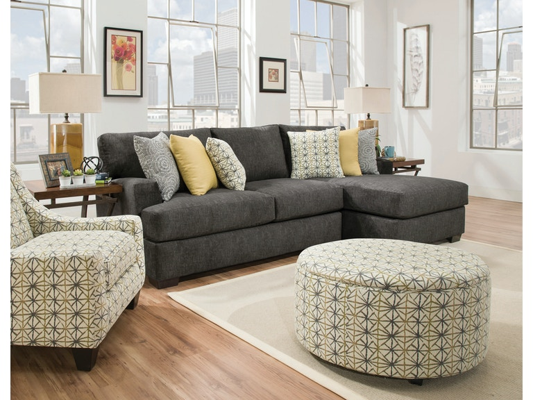 Chesapeake Alton 2 Piece Sectional Alternate Configuration The Living Room