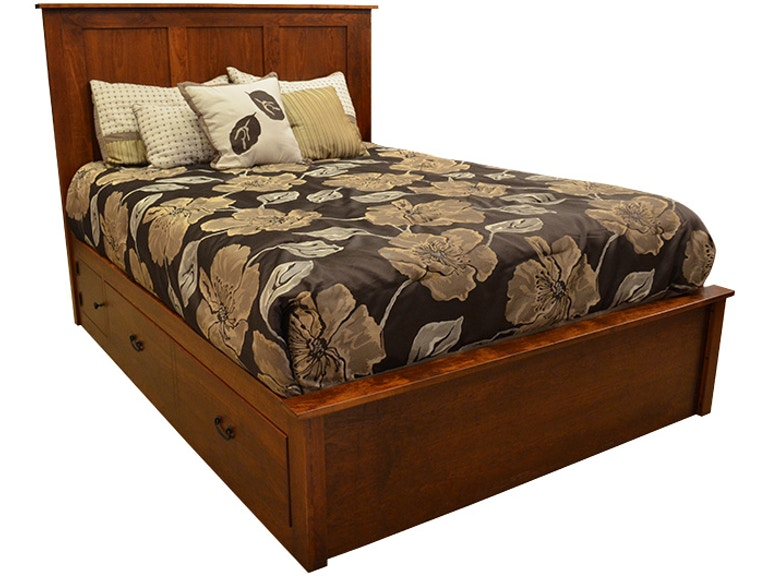 Daniel S Amish Concord Queen Bed