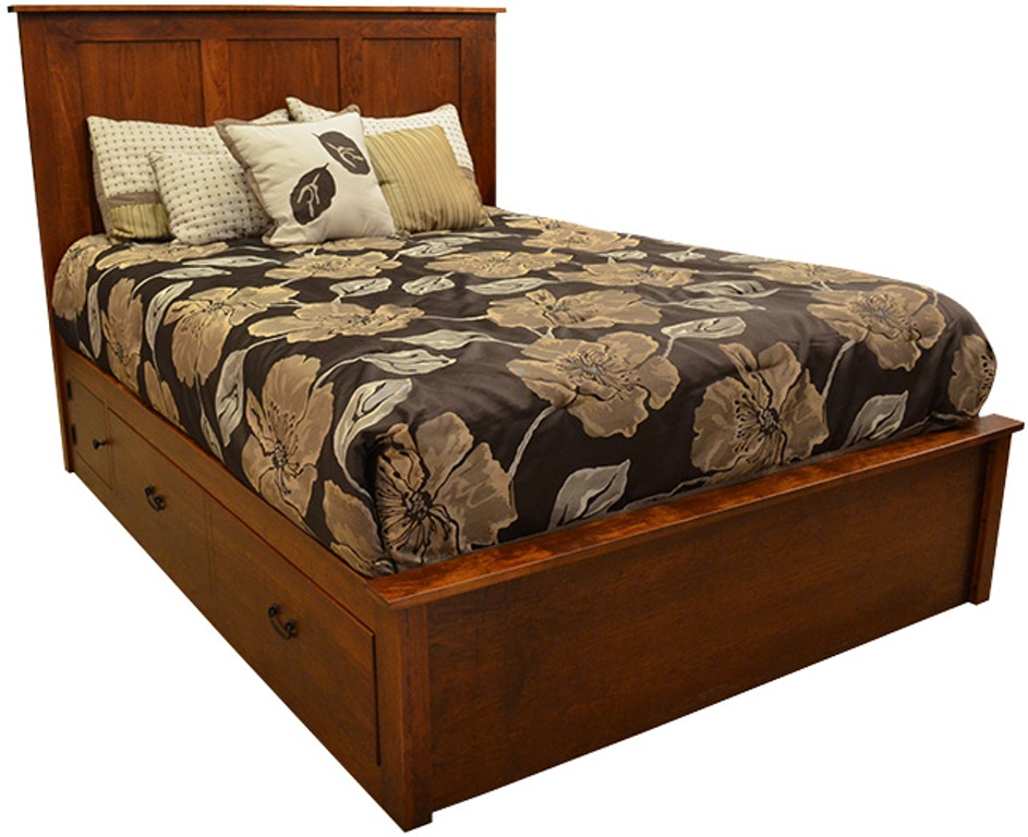 Daniel S Amish Bedroom Concord Queen Bed G59170 Kittle S