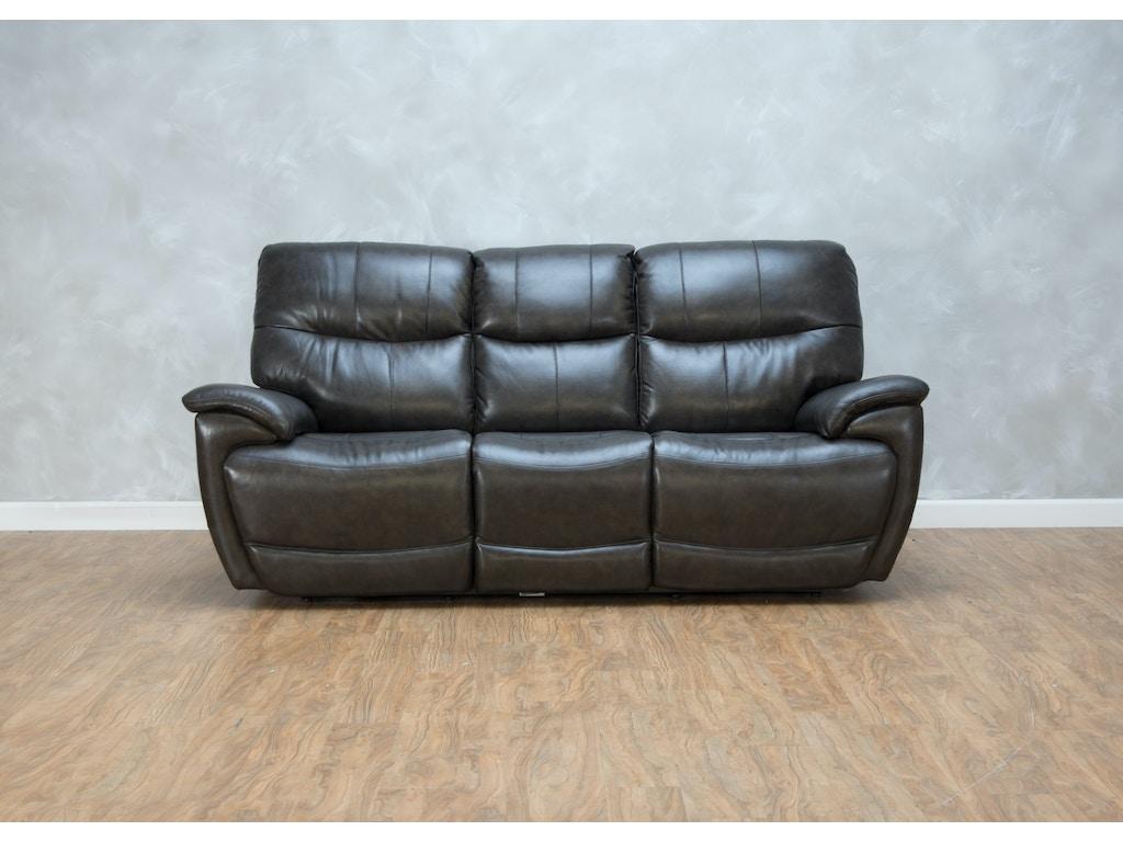 Bassett Living Room Brookville Reclining Sofa Power2