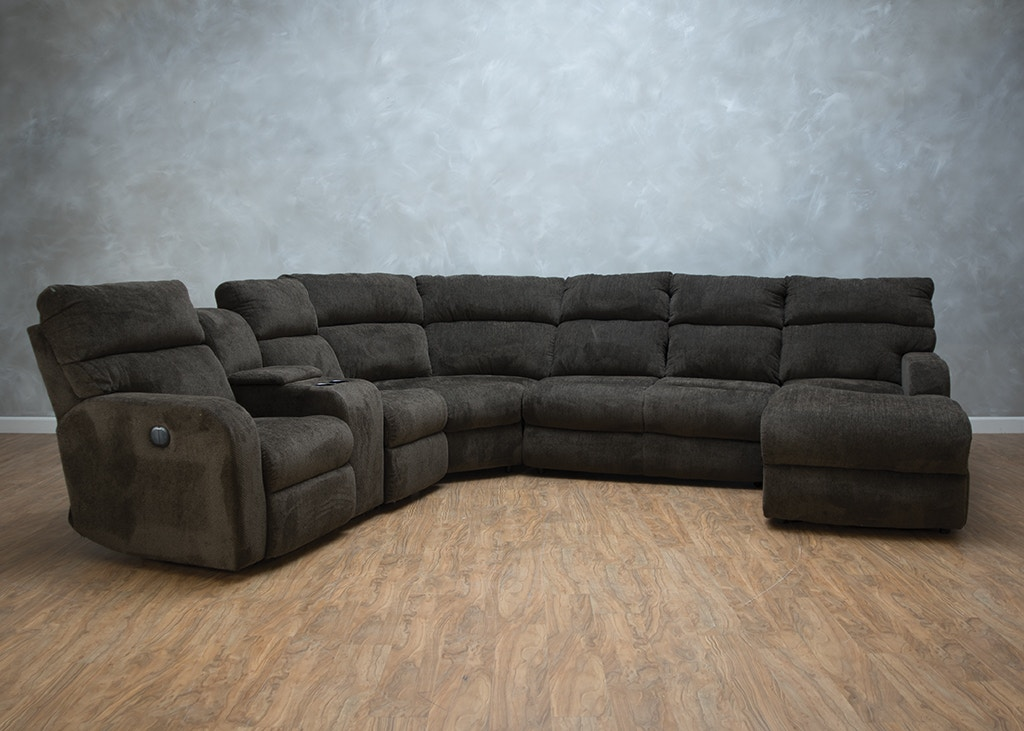 Klaussner Bradford 4 Piece Reclining Sectional G71295