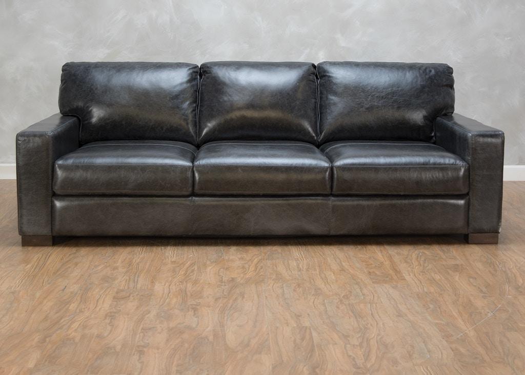 Living Room Ravel Leather Sofa 555639