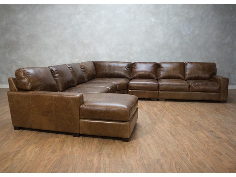 Bella Casa Living Room Ravel 5 Piece Sectional G73509