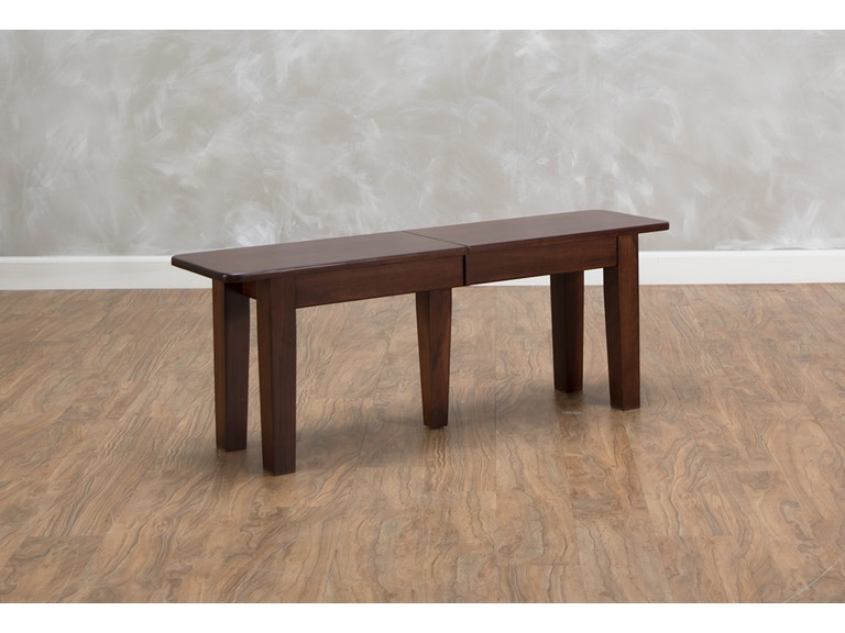 Daniel S Amish Dining Room Extendable Bench 537712