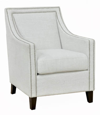 Classic Home Living Room Collina Ivory Chair 501721
