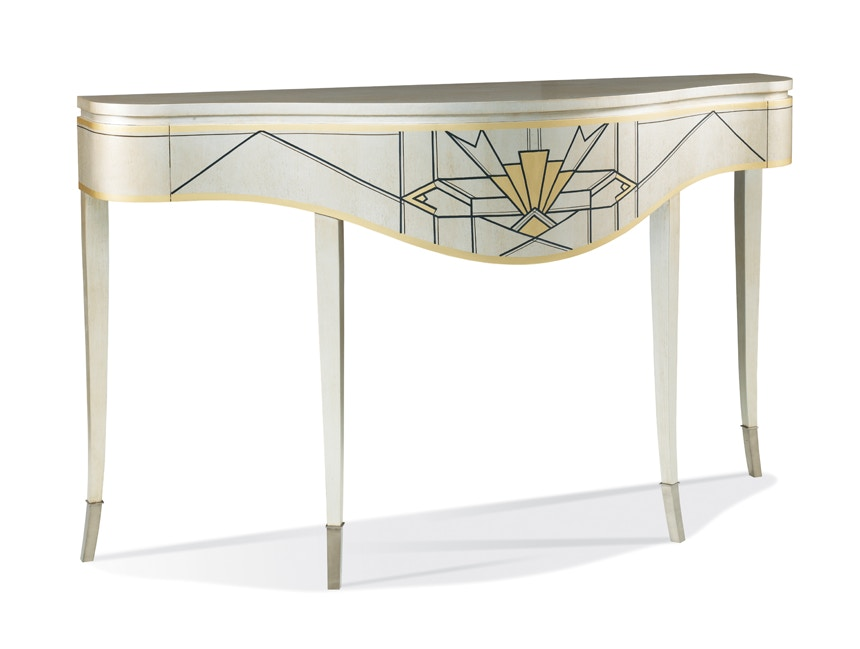 Hickory White Console Table 546368