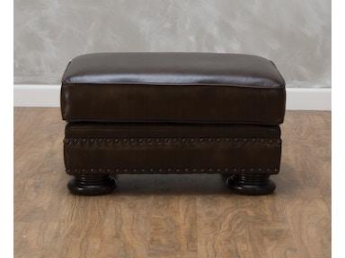 Foster Leather Ottoman 540524 7811 Bernhardt