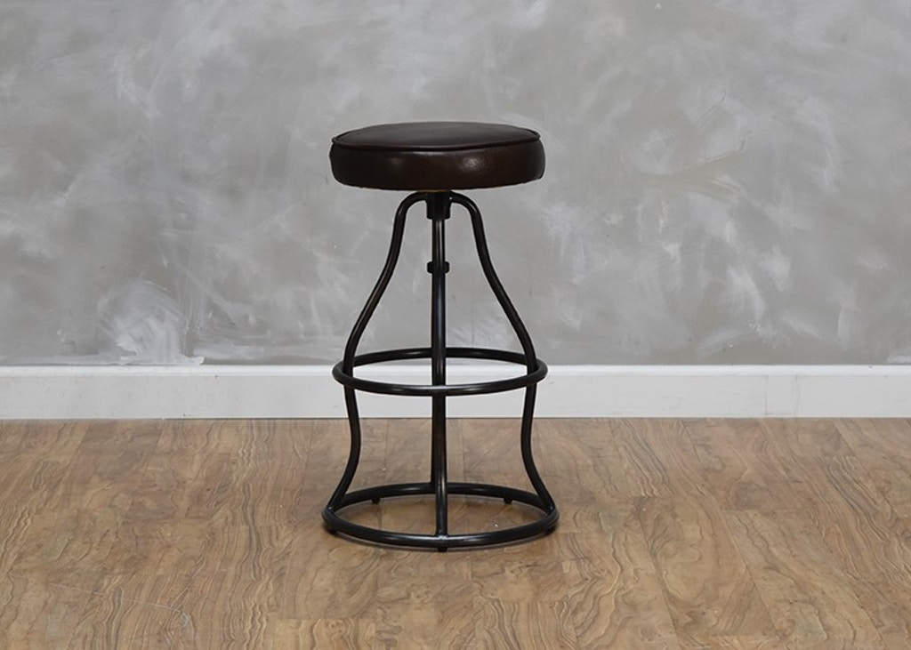Awe Inspiring Bowie Bar Stool Vintage Brown Inzonedesignstudio Interior Chair Design Inzonedesignstudiocom