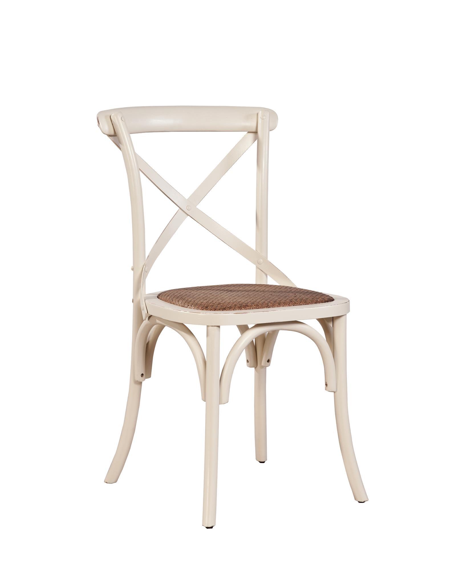 Merveilleux Furniture Classics, LTD Cafe Chair   Cream 507377