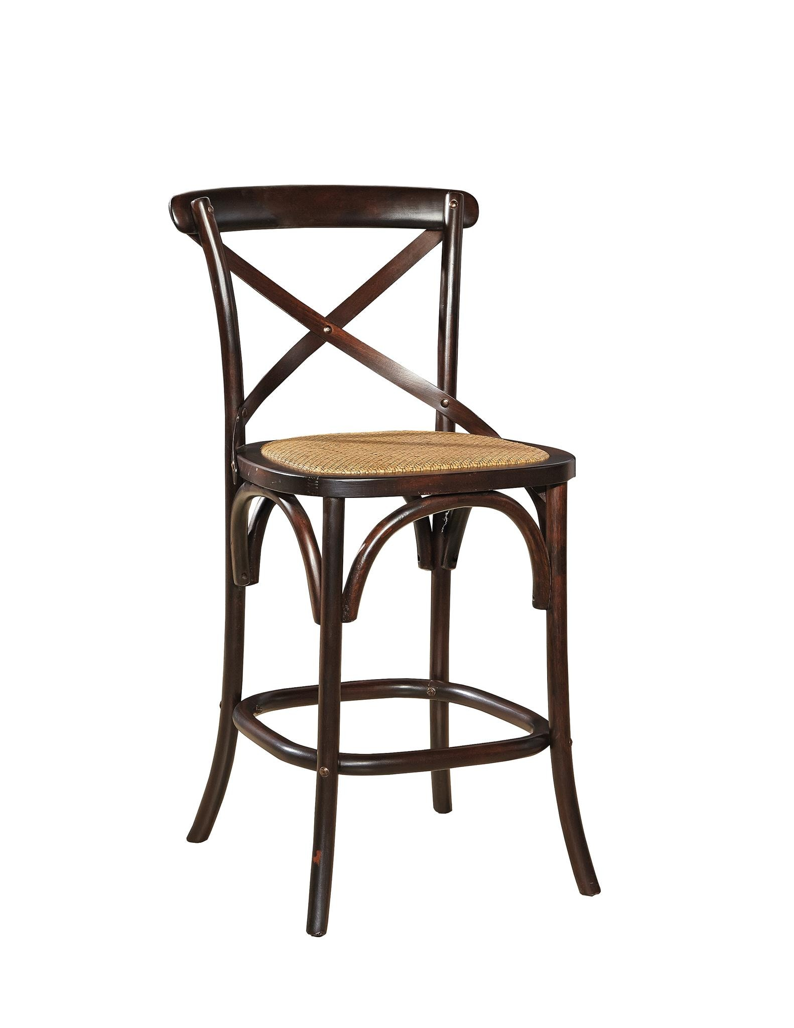 Charmant ... Inspired By Our Bestselling Bentwood Bistro Chairs The Seat Is Padded  With A Woven Rattan Cover. Bentwood Counter Stool 521438 Furniture Classics,  LTD
