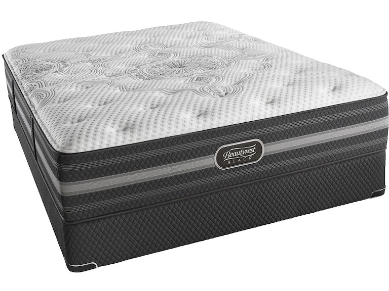 Simmons Beautyrest 174 Mattresses Black Desiree Plush Queen