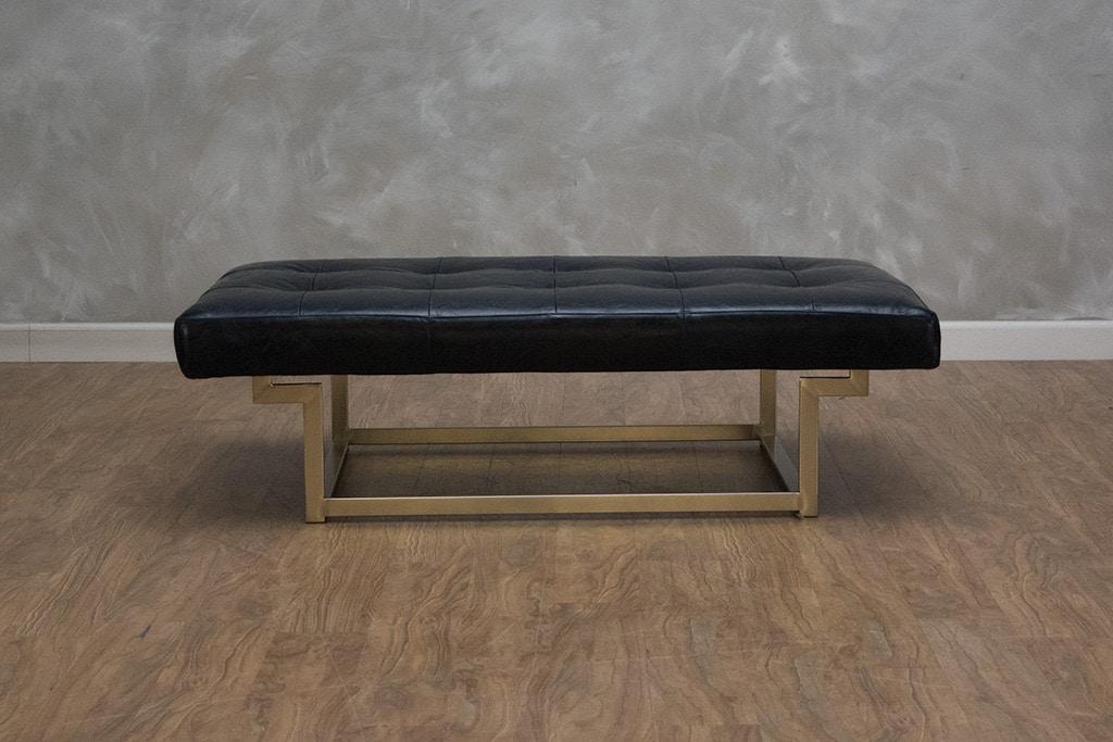 Super Ashbury Cordoba Leather Ottoman Ncnpc Chair Design For Home Ncnpcorg
