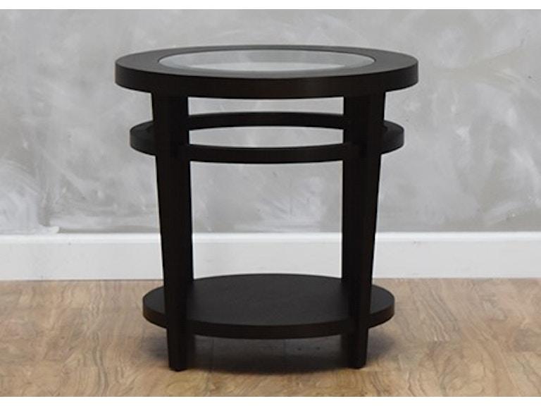 Hammary Living Room Urbana Round End Table 564053 Kittle