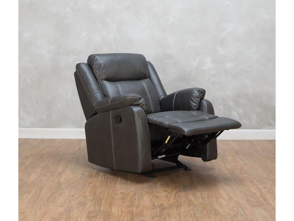 Klaussner Living Room Domino Glider Recliner 530656