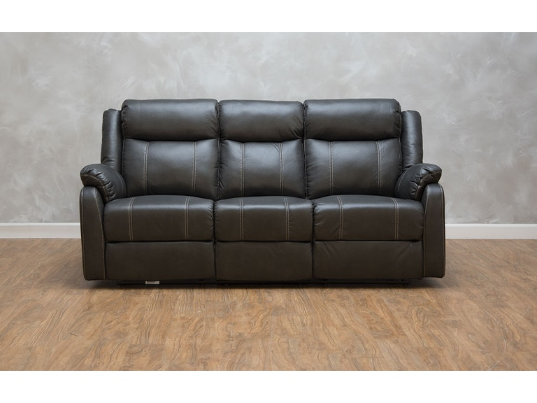 Klaussner Domino Reclining Sofa With Table 530657