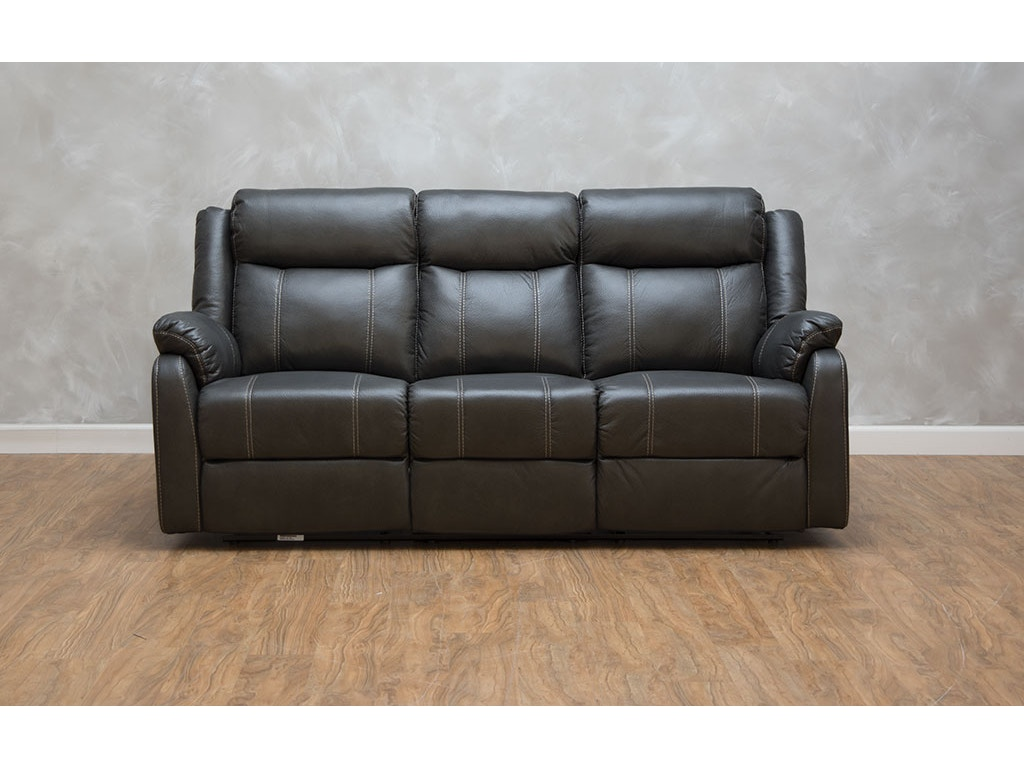 Reclining Sofa With Table Klaussner Living Room Domino