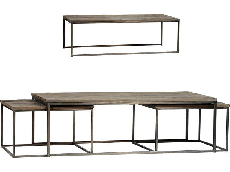 Dovetail Furniture Accessories Douglass Coffee Table Set Of 3 520838