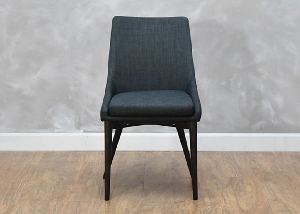 Astounding Fritz Dining Chair Dark Grey Onthecornerstone Fun Painted Chair Ideas Images Onthecornerstoneorg