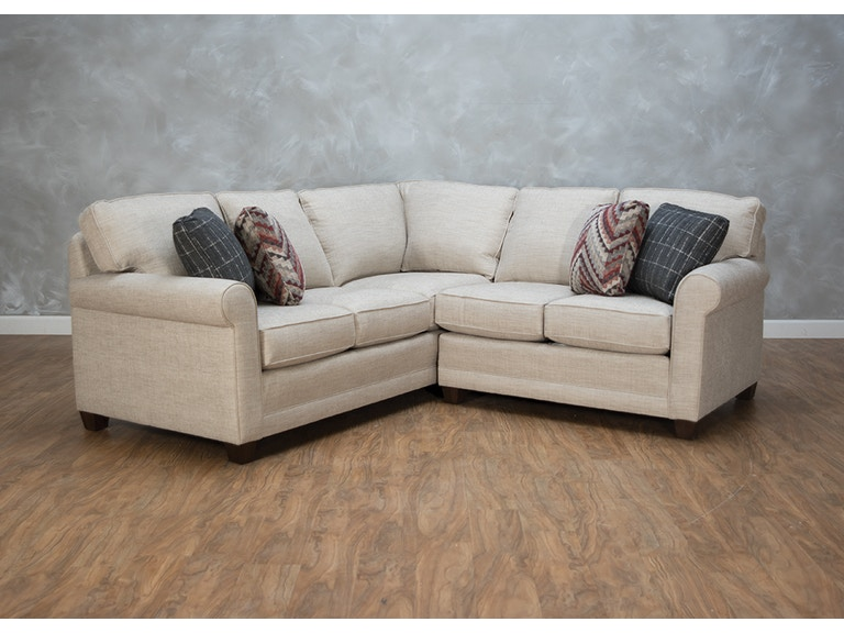 Smith Brothers Garvin 2 Piece Sectional G72816 Kittle S