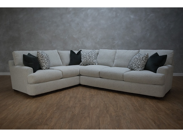 Klaussner Living Room Haynes 2 Piece Sectional G72573