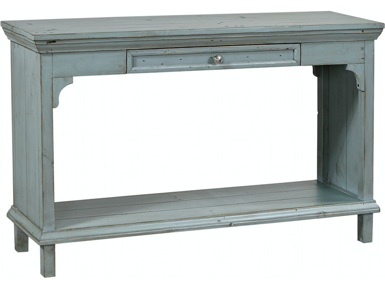 Aspenhome living room preferences sofa table slate blue 539982 aspenhome preferences sofa table slate blue 539982 watchthetrailerfo