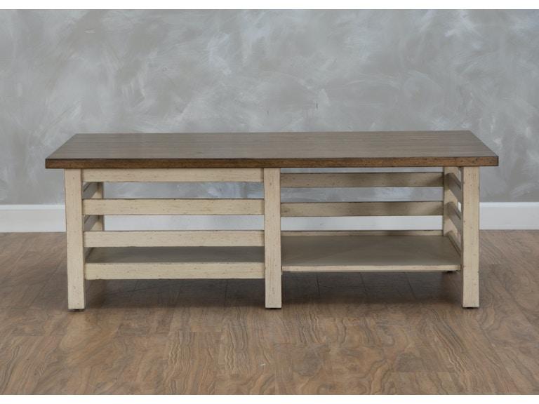 Aspen Home Coffee Table.Modern Farmhouse Cocktail Table