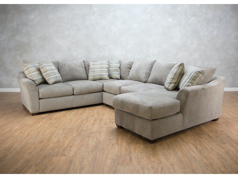 Klaussner Pinecrest 3 Piece Sectional G71353