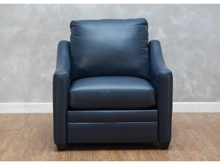 Craftmaster Living Room Hanna Leather Power Recliner
