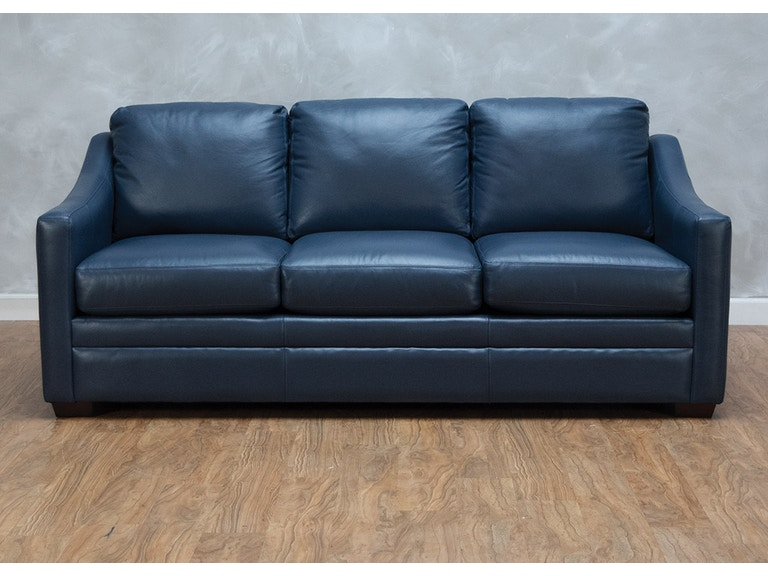 Craftmaster Living Room Hanna Leather Sofa 559881 Kittle