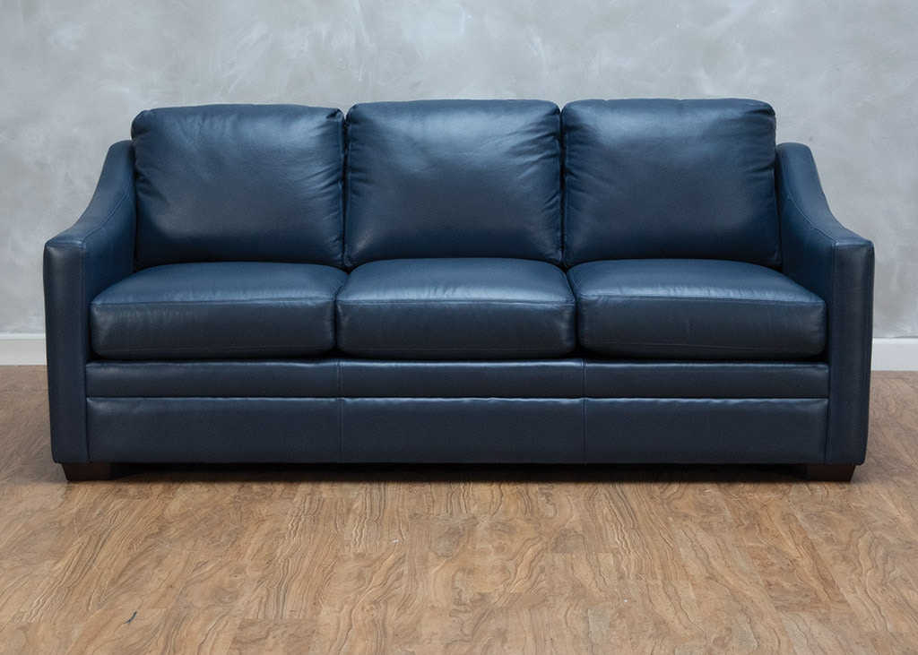 Living Room Hanna Leather Sofa 559881
